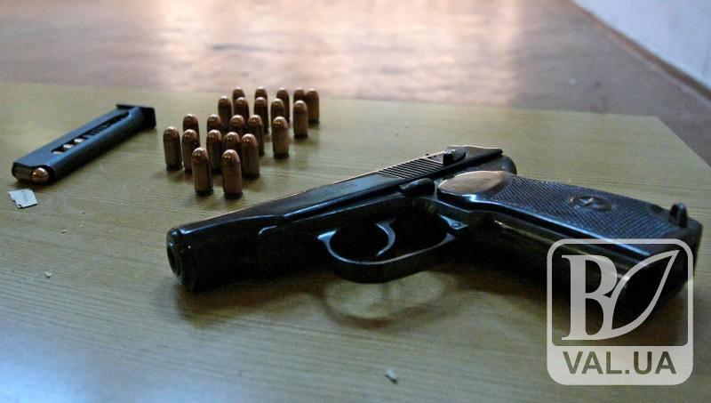 Ніжинець через інтернет закупав деталі до саморобного пістолета