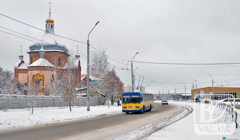 В черниговском общественном транспорте играть новогодняя музыка