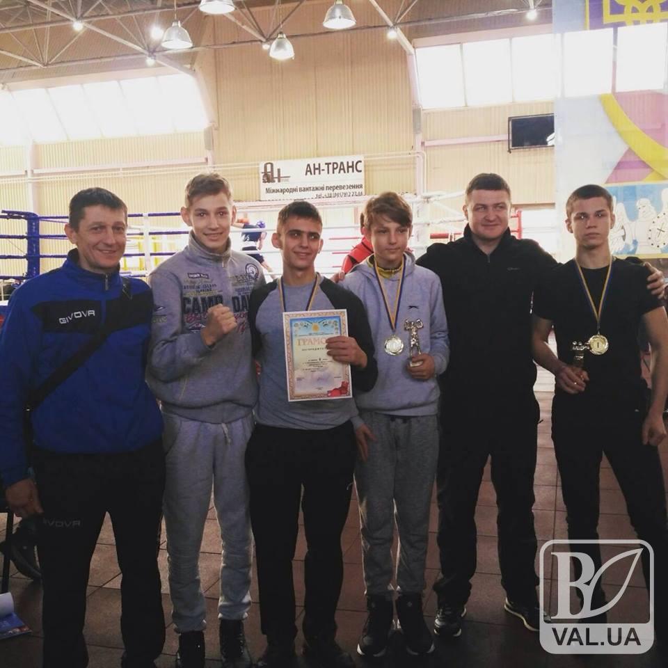 Юні чернігівські боксери знову на п'єдесталі