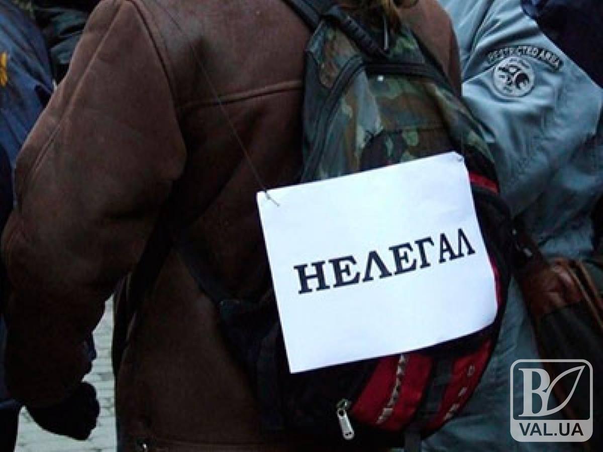 На Черниговщине поймали почти полторы сотни нелегалов