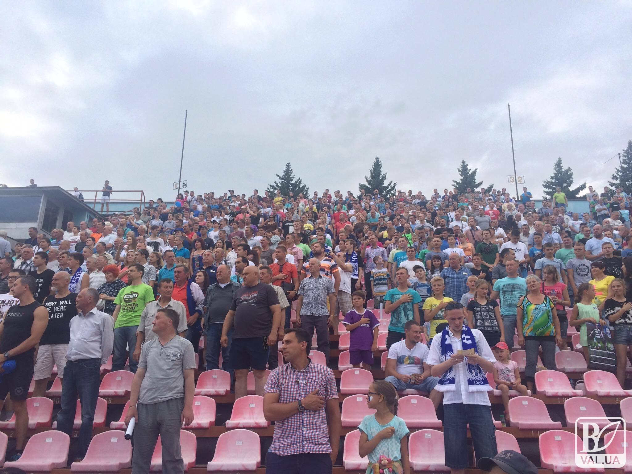 «Десна» у Чернігові - найвідвідуваніша команда Першої ліги