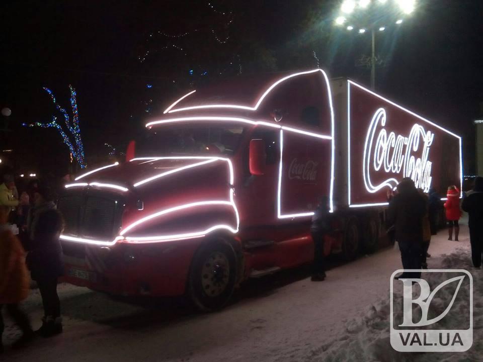Різдвяний караван Coca-Cola на Красній площі: як це було. ВІДЕО