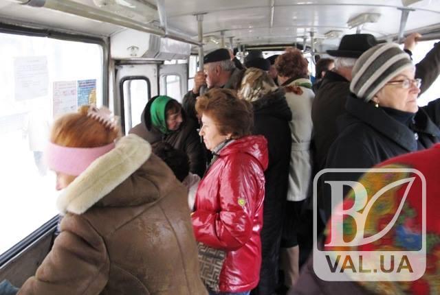 Чернігівці пропонують запустити для пенсіонерів окремі тролейбуси