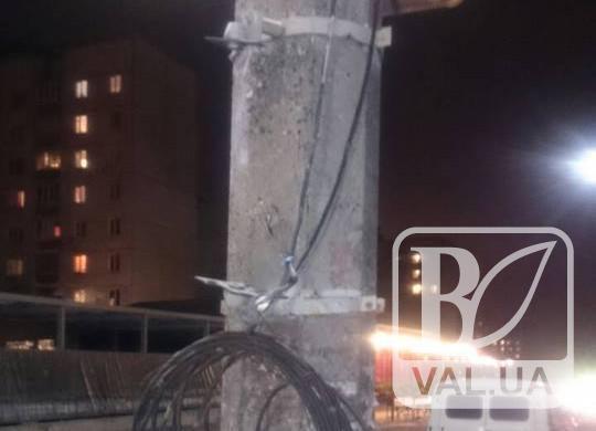 У центрі Чернігова викрали світлофор. ФОТО