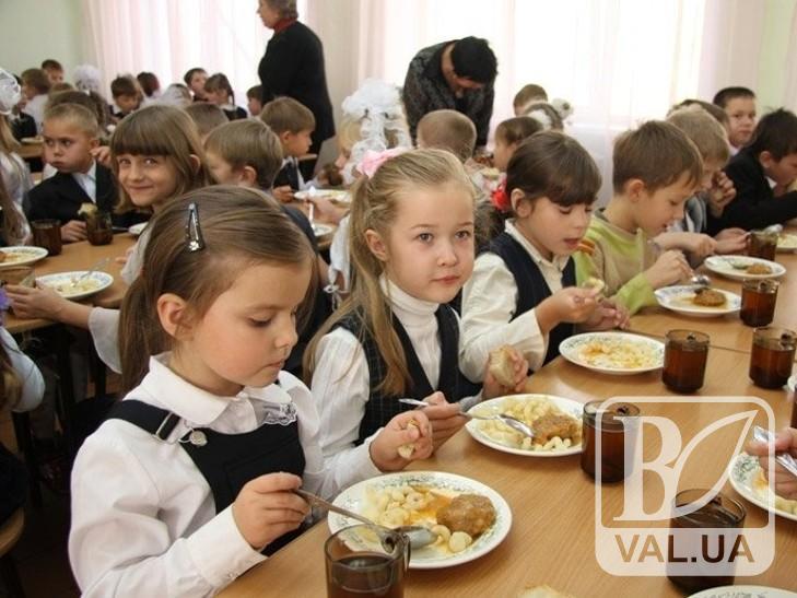 У чернігівських школах та дитсадках збільшилась вартість харчування