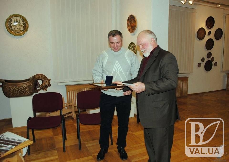 Чернігівський різьбяр став майстром року в Україні