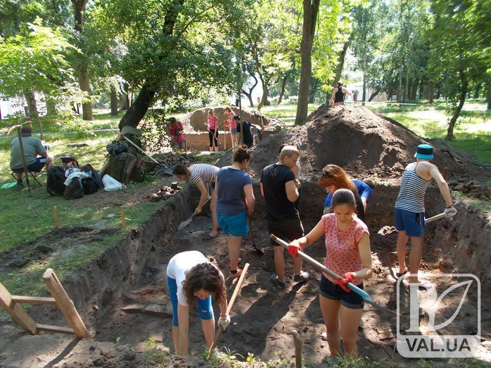 Виставку археологічних досліджень, що проводилися на території Валу, заплановано на лютий