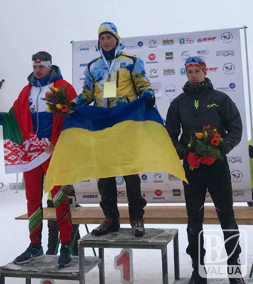 Спортсмен з Чернігова виборов золоту медаль на Всесвітній Зимовій Гімназіаді