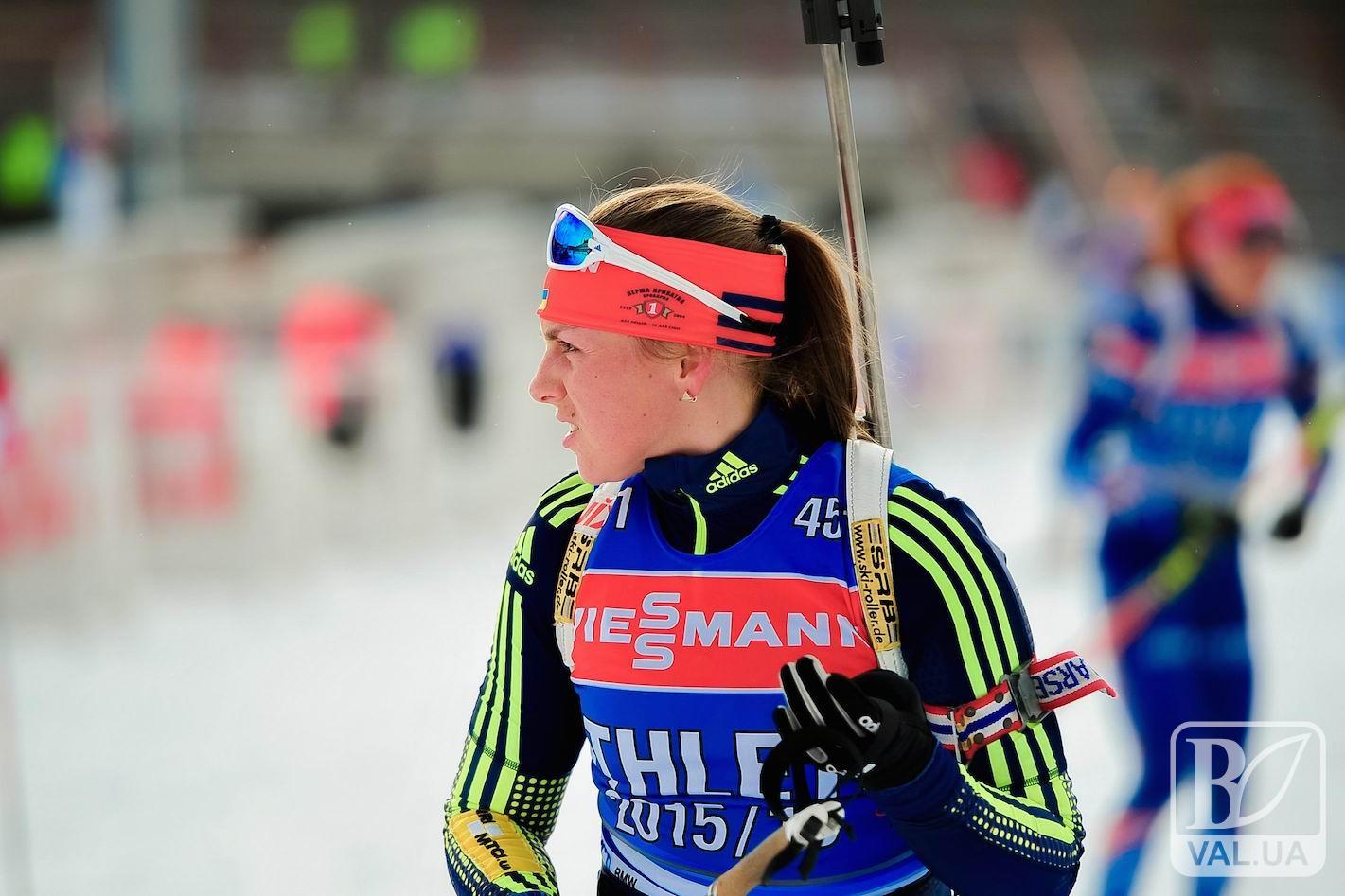 Чернігівська біатлоністка стартує на Олімпіаді. ВІДЕО ОН-ЛАЙН