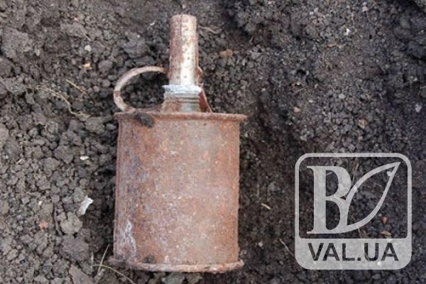 У Ніжині біля автомобільного мосту знайшли гранату