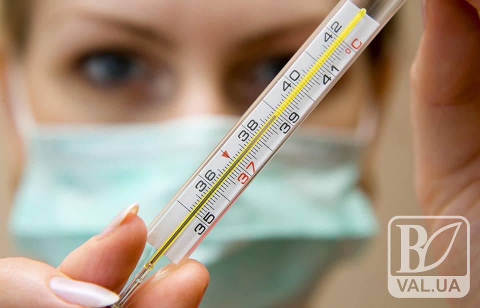 На Чернігівщині вже захворіло 5500 тисяч осіб