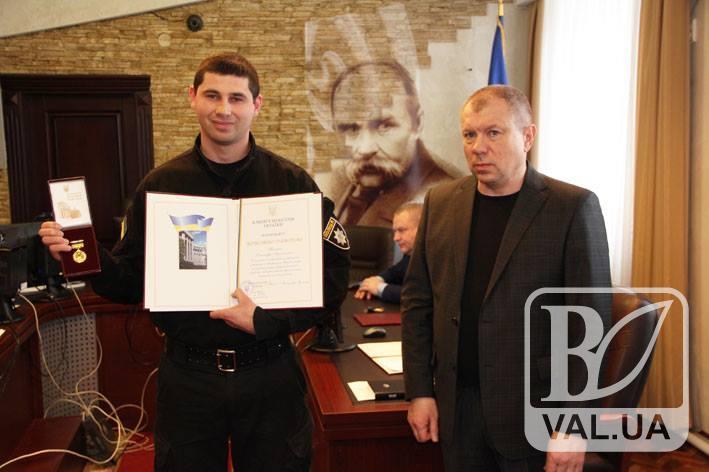 На Чернігівщині відзначили кращих спецпризначенців