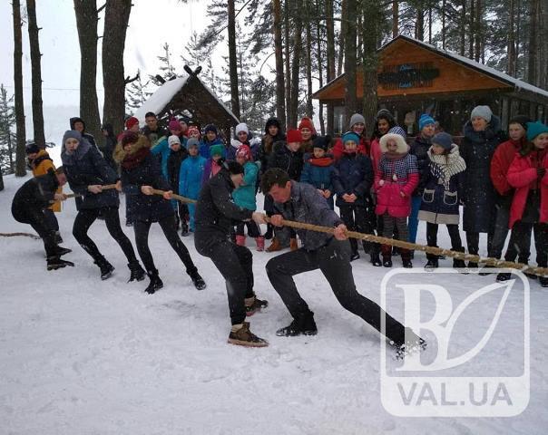 На Голубих озерах пройшла «Олімпійська зима». ФОТО