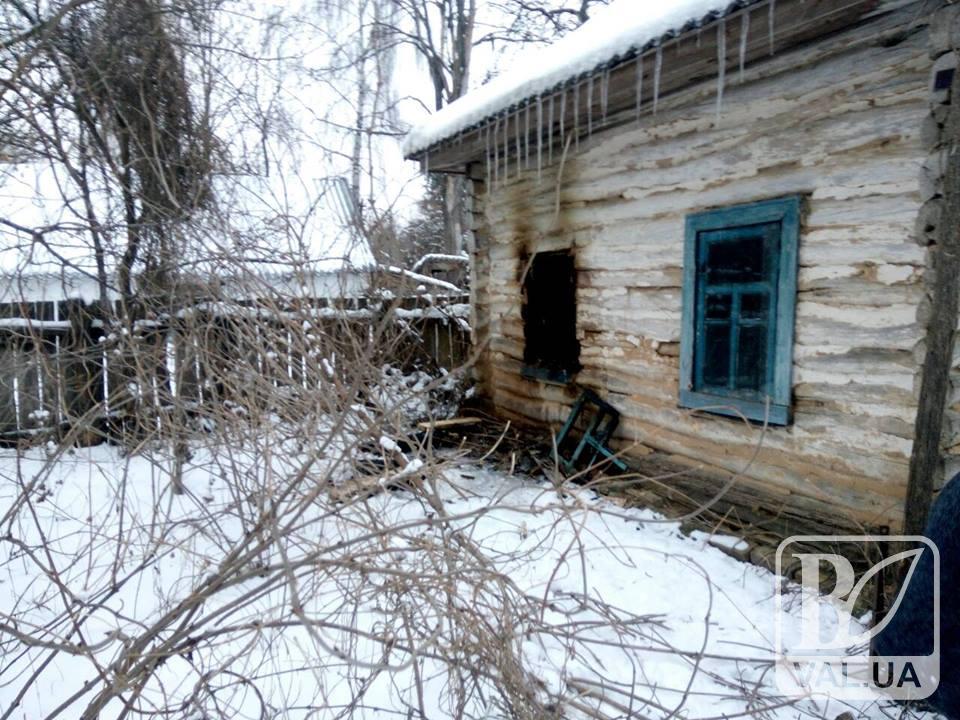 На Чернігівщині через недопалок загинув 67-річний чоловік