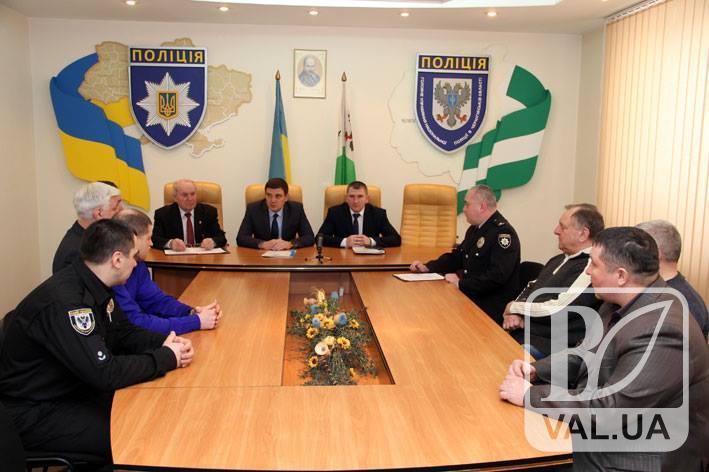 Поліцейські вшанували учасників бойових дій на території інших держав
