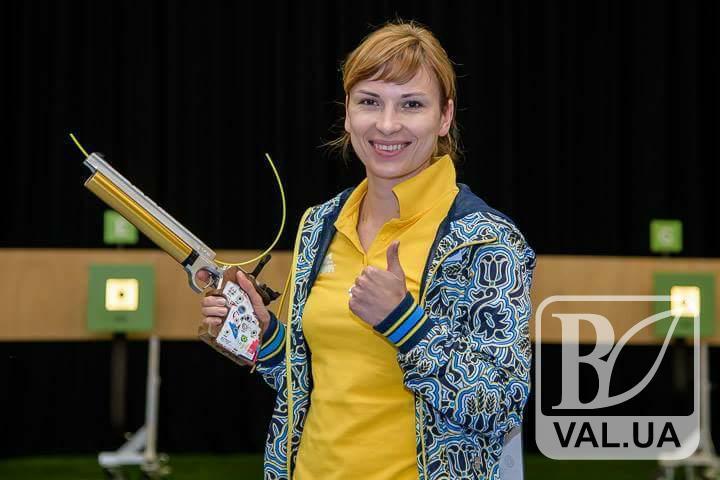 Стрільчиня  з Чернігова виграла медаль чемпіонату Європи
