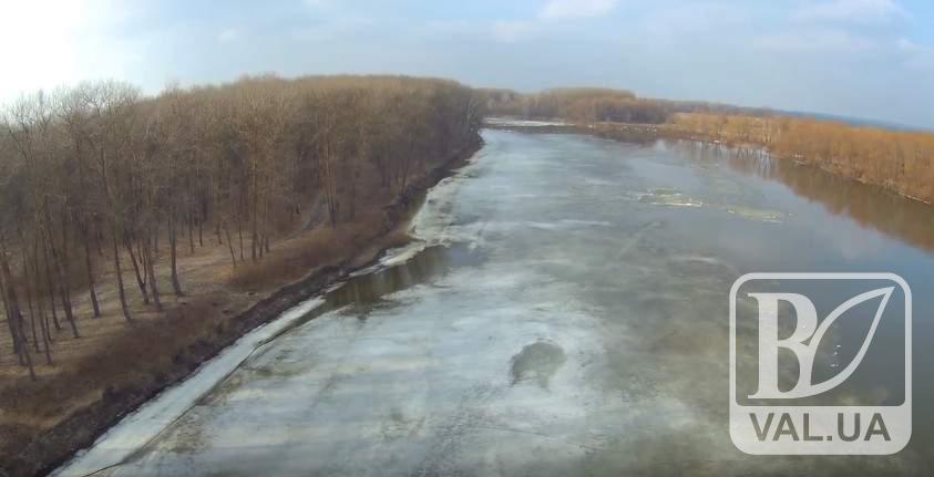 Рівень води в Десні знижується
