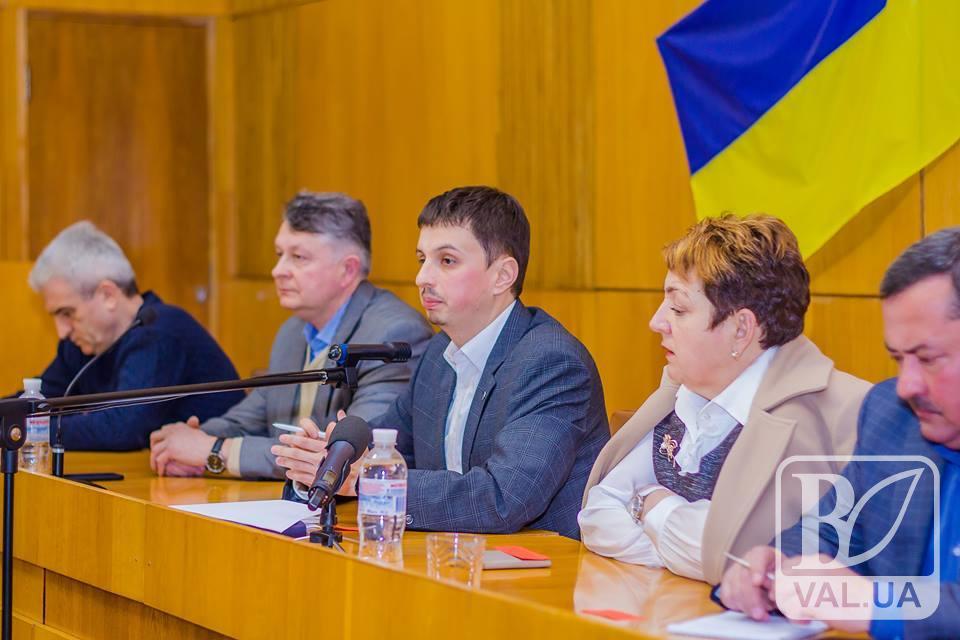 Дмитро Іванов очолив Чернігівську «Батьківщину». ВІДЕО