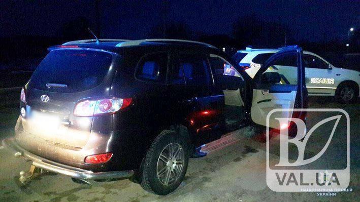 Поліція Чернігівщини затримала дует зухвалих столичних автоугонщиків