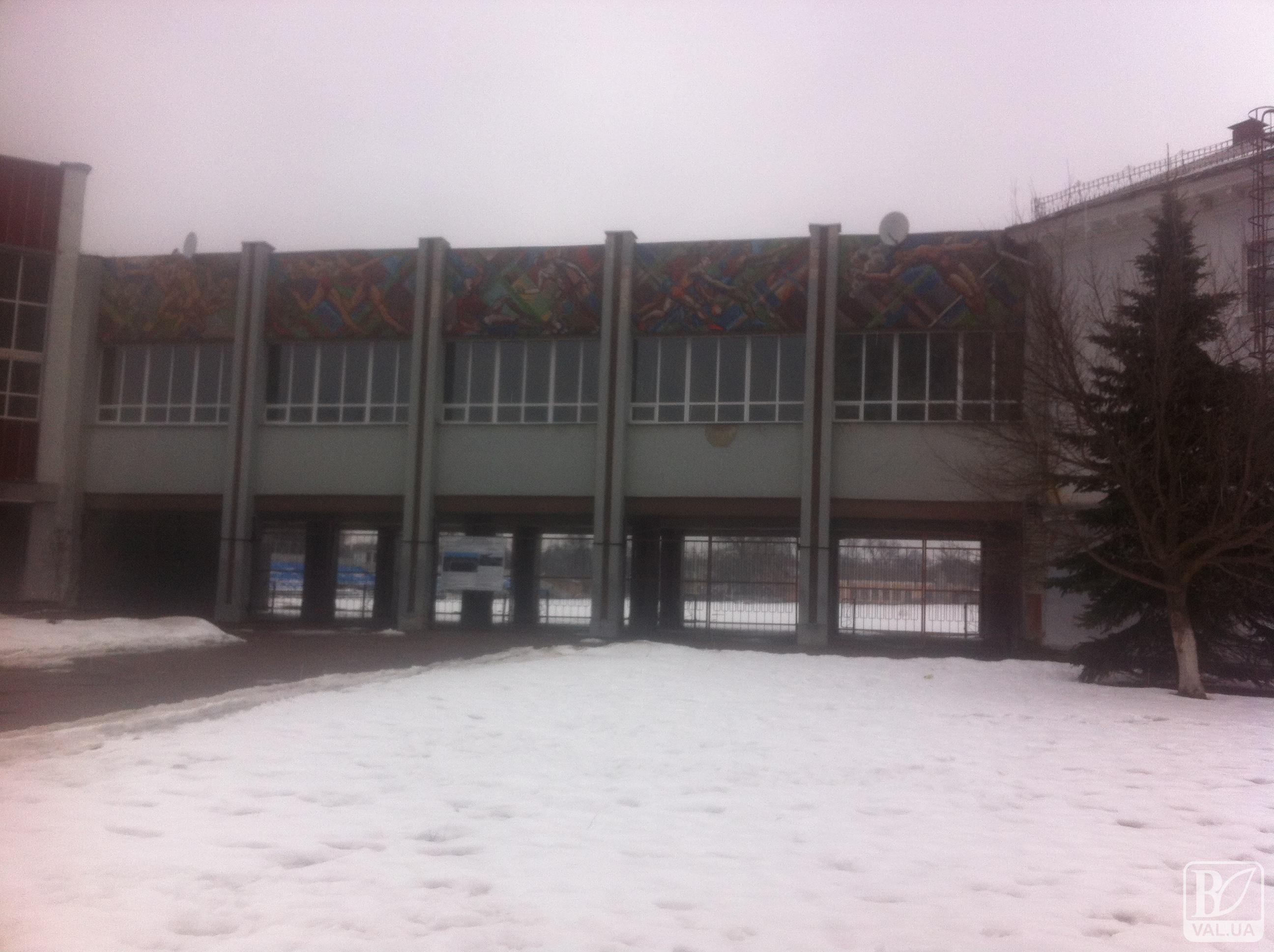 Столичні журналісти знімали у Чернігові репортаж про скандал з призначенням директора спортшколи. ФОТО
