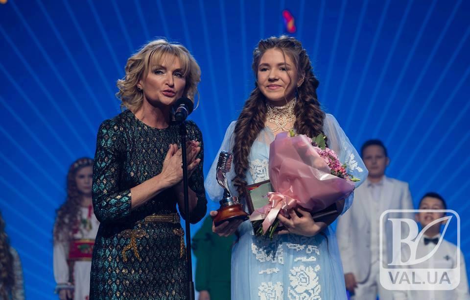 Юна вокалістка з Чернігівщини отримала спецприз на національному конкурсі