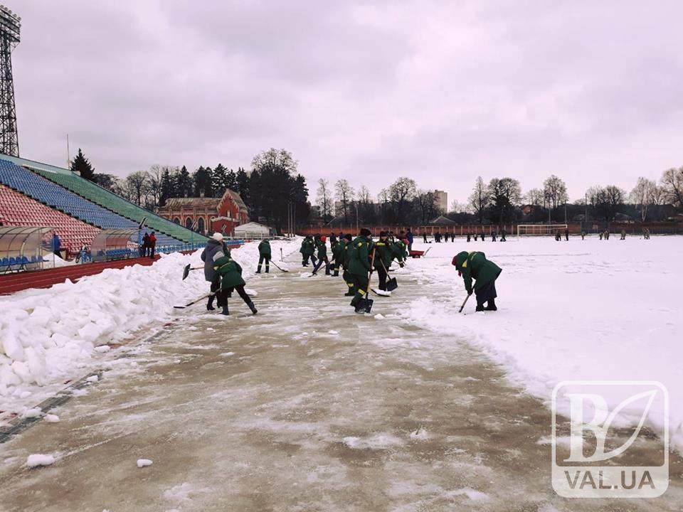 Матч «Десна» Чернігів – «Арсенал» Київ опинився під загрозою