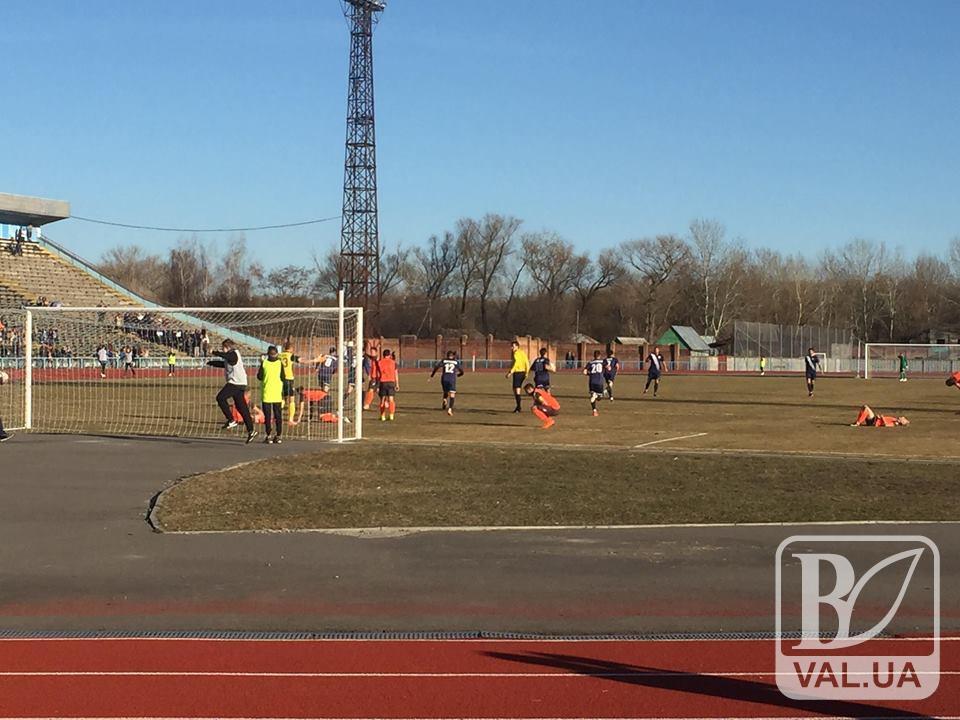 Чернігівська «Десна» зіграла внічию з лідером чемпіонату