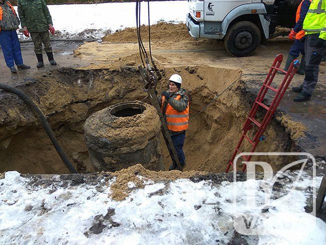 На ремонт аварійного колектору на ділянці вулиць Шевченка–Савчука потрібно до 25 млн. грн.