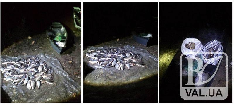 На Чернігівщині затримали чоловіка, який незаконно виловив 30 кг риби