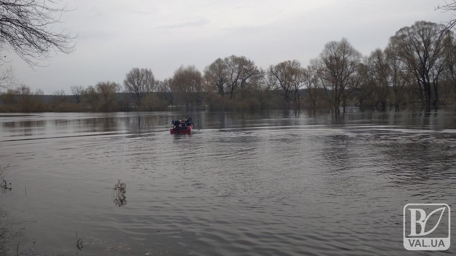 На Чернігівщині внаслідок водопілля відрізано три села