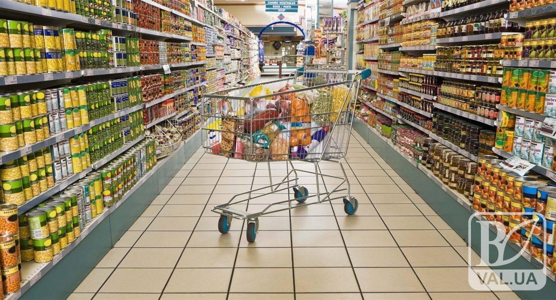 27-річний чернігівець намагався із супермаркета викрасти харчі майже на тисячу гривень