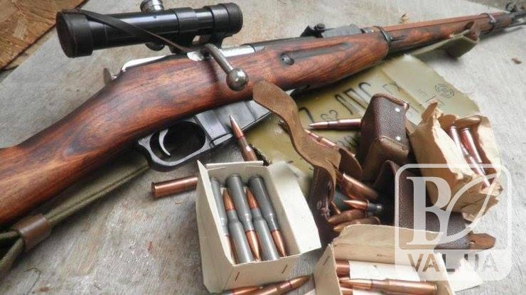 У Городні на ринку намагалися продати гвинтівку Мосіна