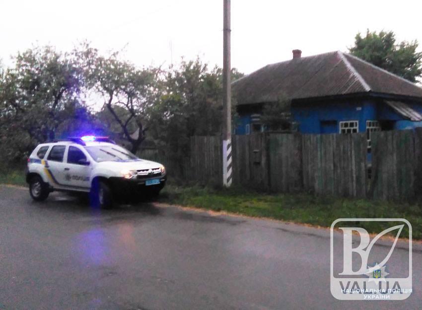У Семеновському районі чоловік забив каменем жінку і закопав. ФОТО