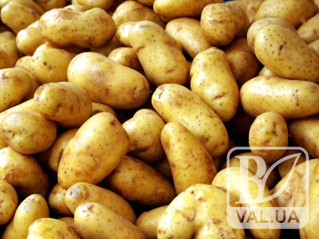 Підприємство продало картоплю нижче собівартості