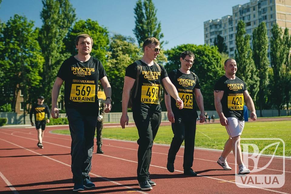 Четверо представників з Чернігівщини взяли участь у Національних Іграх Нескорених