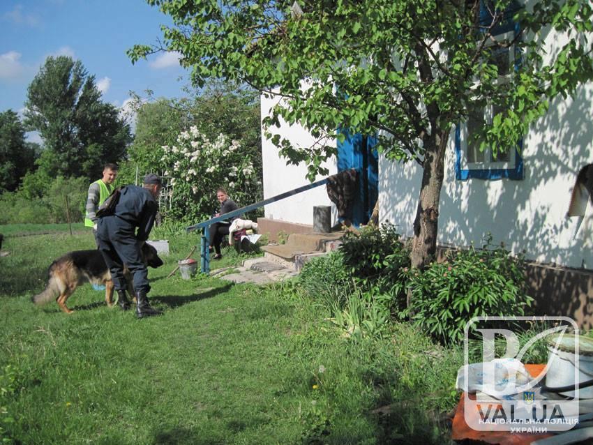 У Бобровицькому районі чоловік зарізав односельця. ФОТО