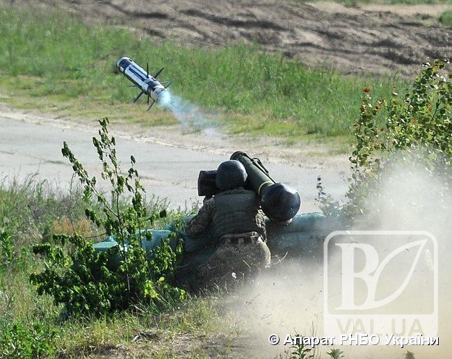 Джевеліни вперше випробували в Україні на Гончарівському полігоні. ФОТО