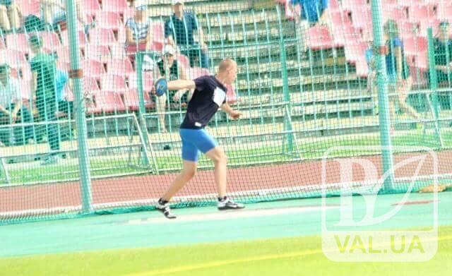 Чернігівець посів друге місце з метань диска на командному чемпіонаті з легкої атлетики
