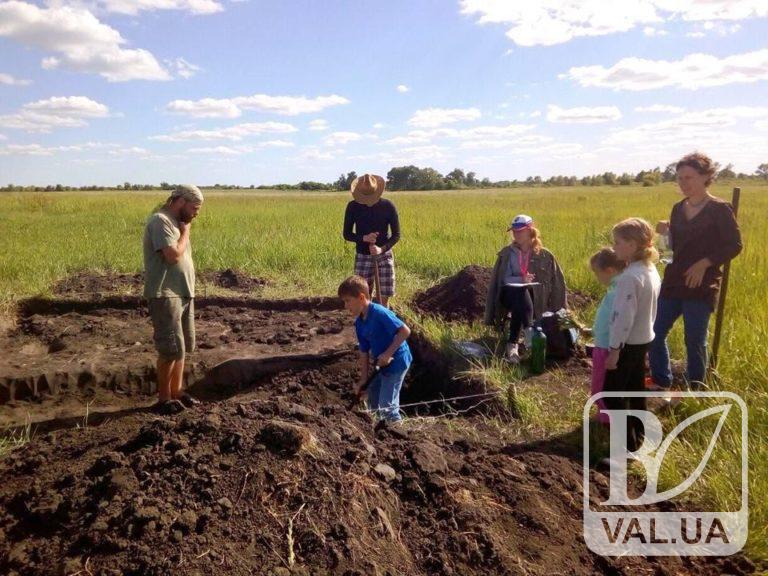 У Ніжині діє польова археологічна школа. ФОТО