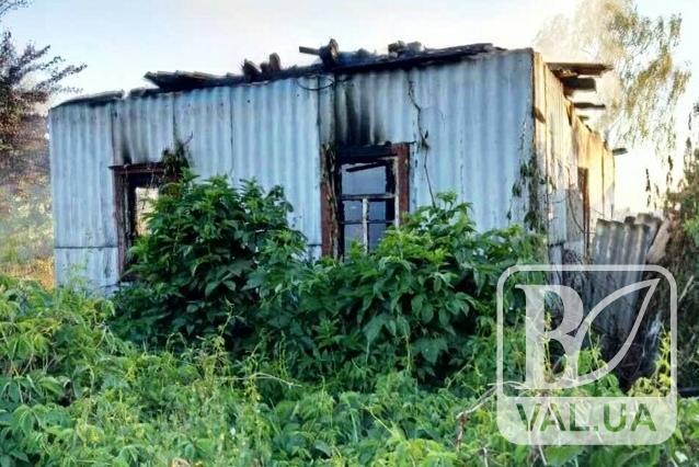 У Чернігівському районі чоловік згорів живцем у власному будинку