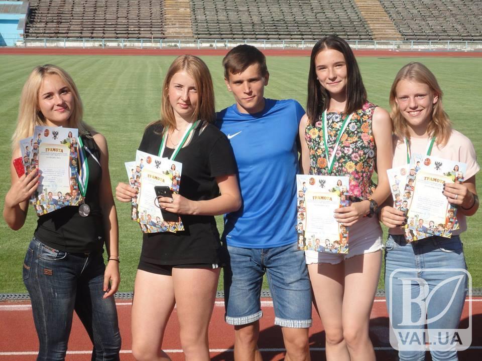 У Чернігівській області пройшов чемпіонат з легкої атлетики. ФОТО