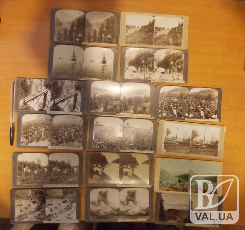 Білорус намагався вивезти раритетні стереофотографічні листівки 1917 року