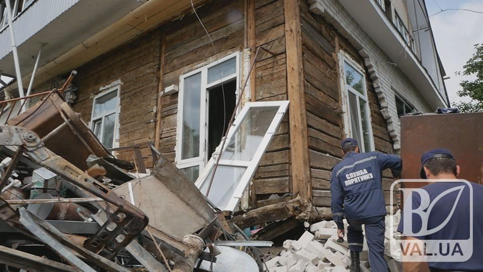 Подробиці вибуху двоповерхового будинку на Бобровиці. ВІДЕО