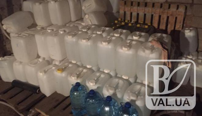 На Чернігівщині вилучили з незаконного обігу партію спирту вартістю 800 тис гривень