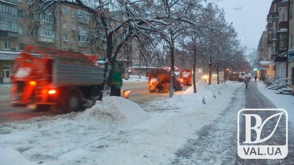 Комунальники вже почали готуватися до зими