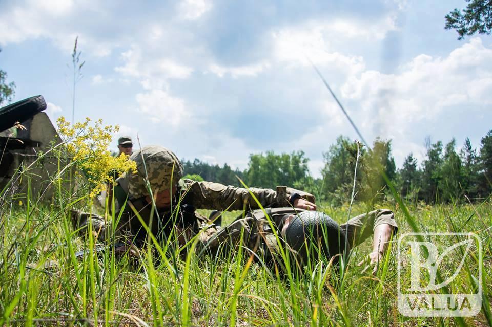 """У """"Десні"""" розпочалися змагання на кращого бойового медика Збройних Сил України. ФОТО"""