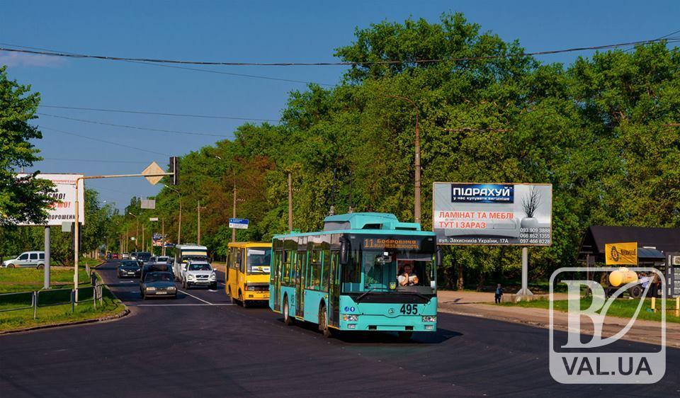 Рух тролейбусів по вулиці Незалежності вже відновлено