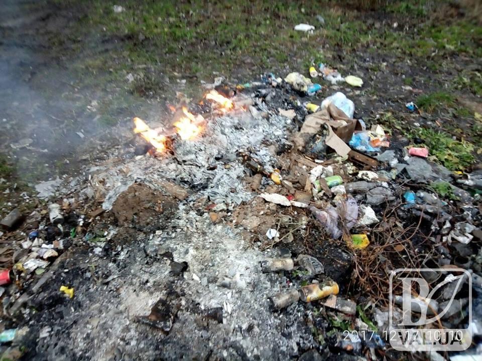 Чернігівці жаліються на спалювання сміття та відходів підприємствами і фізичними особами