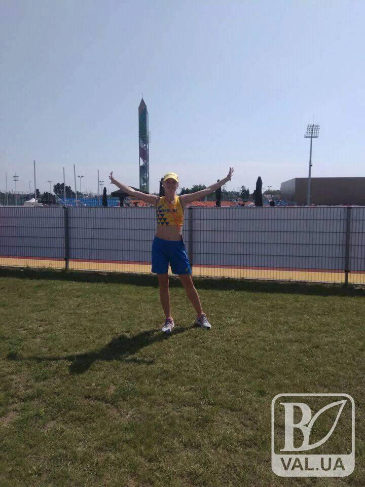 Марія Буряк із Чернігівщині потрапила до п'ятірки кращих складу збірної України