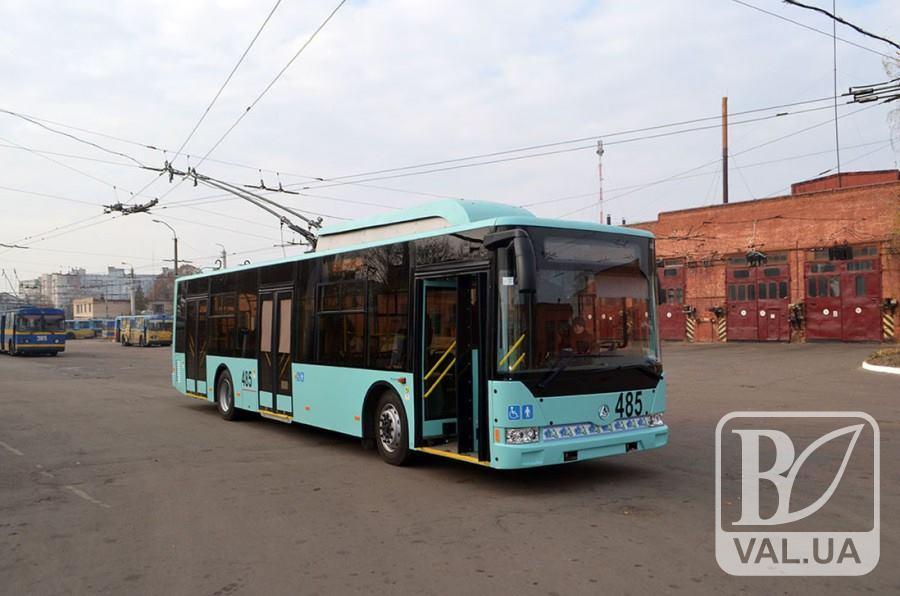 У Чернігові вдосконалять тролейбусний маршрут № 6. Поки що тимчасово